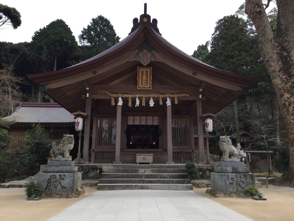宝満宮竈門神社の本殿