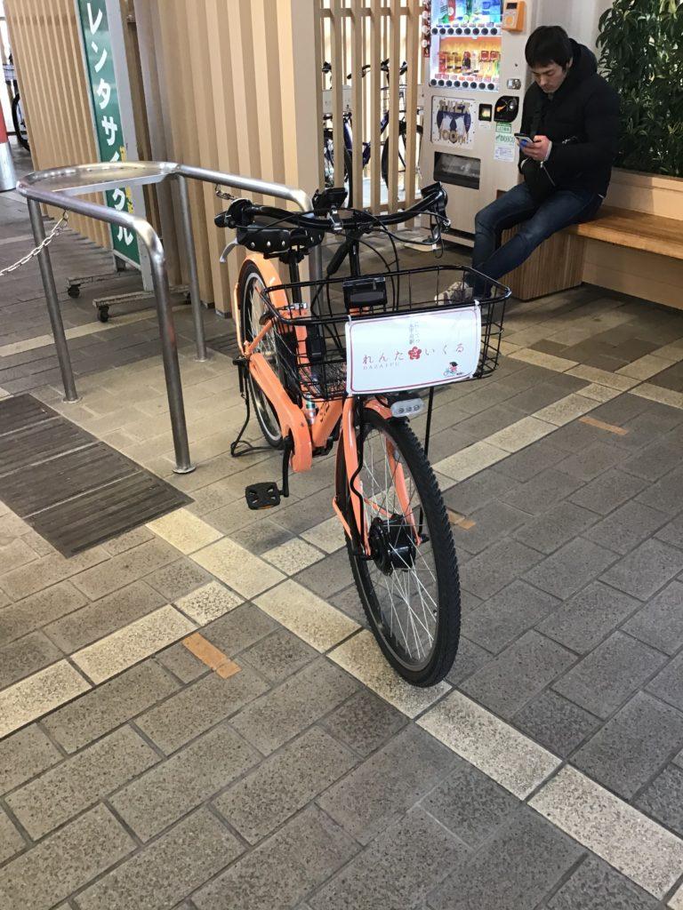 西鉄太宰府駅 レンタサイクル