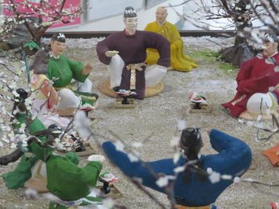 梅花の宴の様子